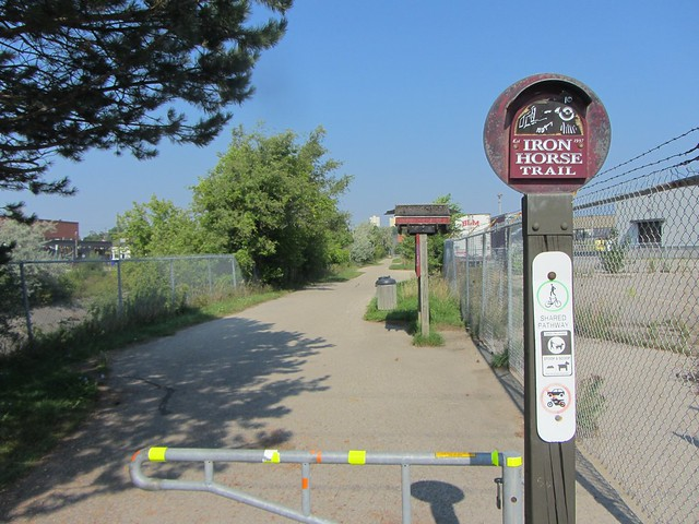 Iron Horse Trail in Kitchener