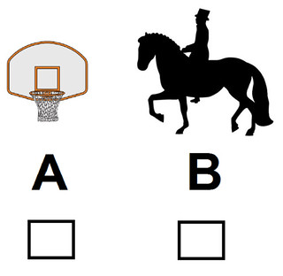 Choose: Hoops or Dancing Horse?