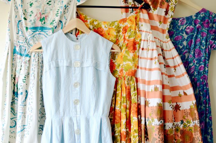 1950s and 1960s vintage sundresses c