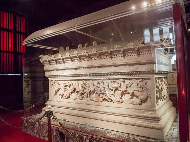 The Sarcophagus of Alexander the Great