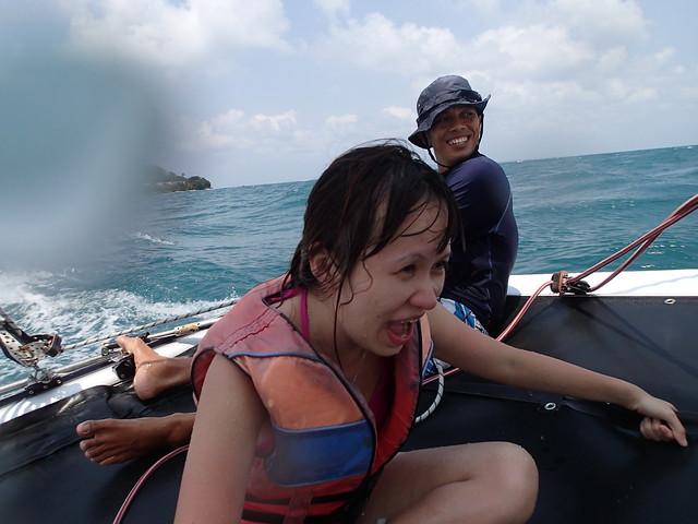 Nikoi Island: Sailing