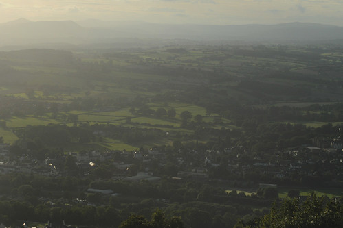 Monmouth from The Kymin