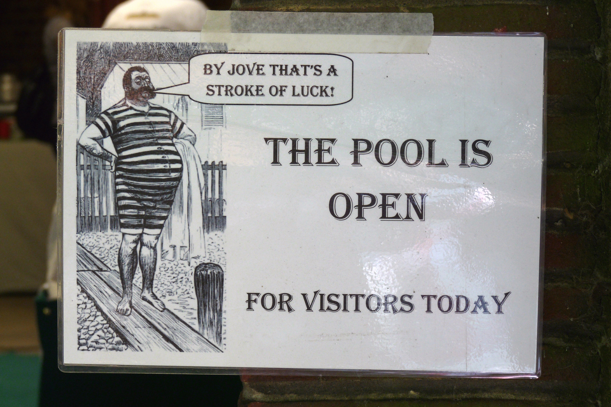 The Pool Is Open King 39 S Meadow Swimming Baths Off Napier Flickr Photo Sharing