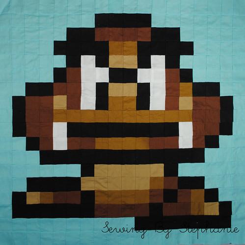 Super Mario Brothers QAL: Goomba