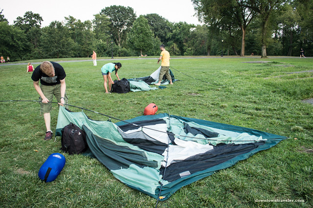 Camping in Central Park NYC-10