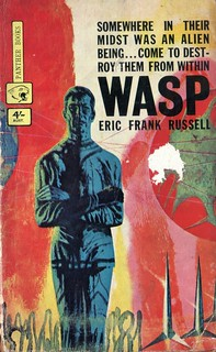 Wasp by Eric Frank Russell. Panther 1963. Cover artist Richard Powers