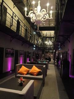 Hotel Arresthuis, antigua prisión.