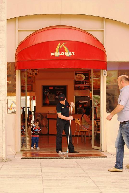 Albanska podroba McDonalda