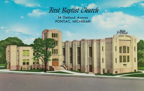 First Baptist Church - Pontiac, Michigan by The Pie Shops