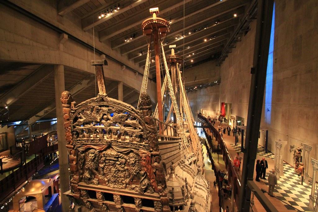 Vasa Warship- Stockholm, Sweden