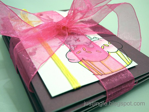 Cupcake Card Set