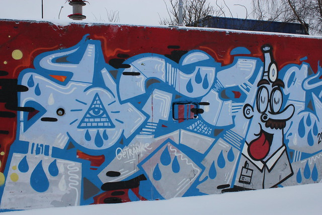 Illuminati Graffiti Amsterdam | Flickr - Photo Sharing!
