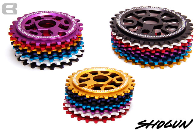 PS Eastern Shogun Sprocket Sizes