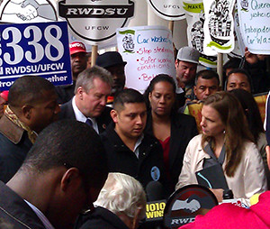 Car wash workers testified at City Council hearings and press conferences.