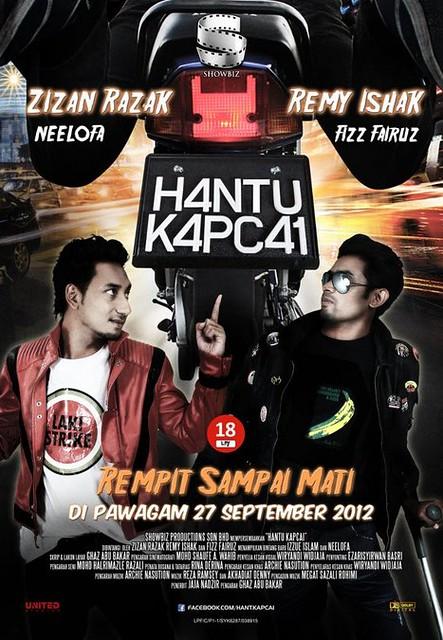 Poster Hantu Kapcai