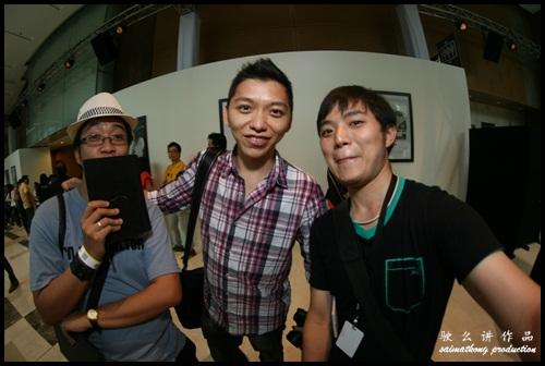Bloggers : Tian Chad at Das Auto Show