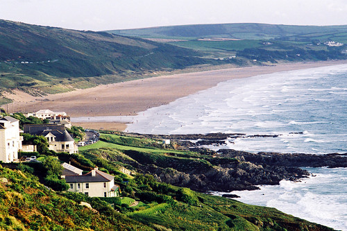 View to Woolacombe Bay from Mortehoe