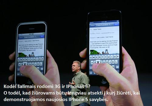 Apple iPhone 5 kopijuoja kiniškus Android telefonus