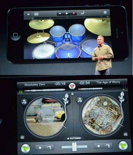 Плеер в iPhone 5