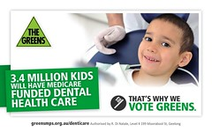 3.4 million kids will have Medicare funded dental health care - that's why we vote Greens by Greens MPs
