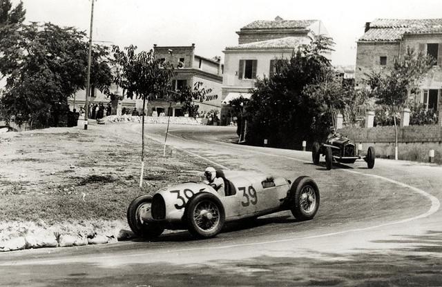 1935 Auto Union Typ B, Achille Varzi