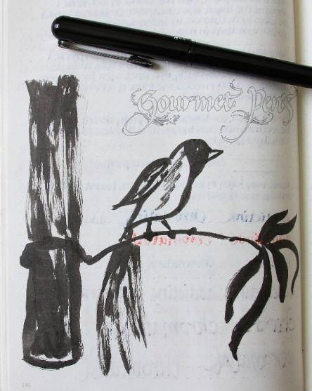 Pentel Brush Pen Doodle
