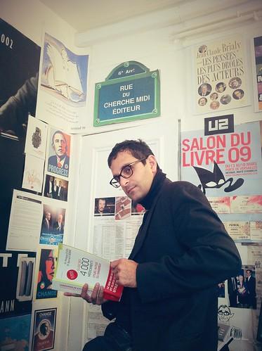 L'éditeur Arash Derambarsh aux éditions du cherche midi by Arash Derambarsh