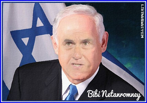 BIBI NETANROMNEY by Colonel Flick