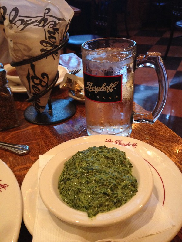 Berghoff Creamed Spinach