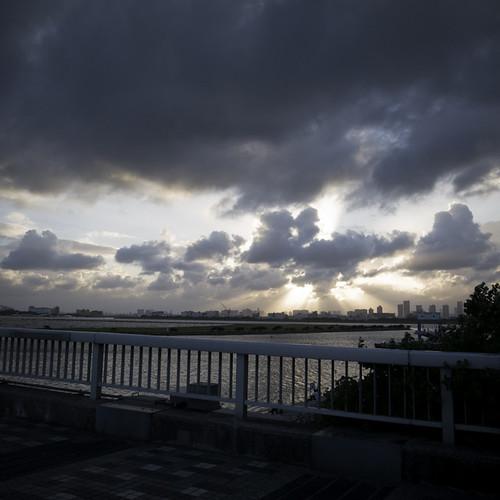 Skirting the Typhoon, Kasai Rinkai Park