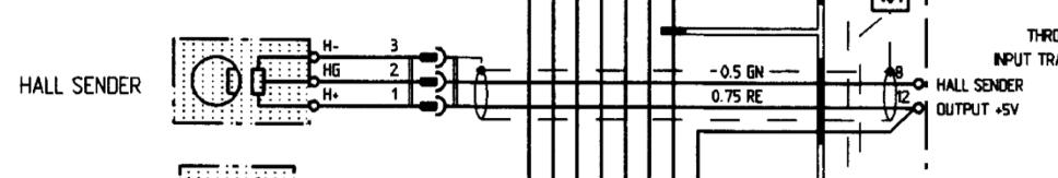 Hall sensor Hall sender wiring diagram help Rennlist