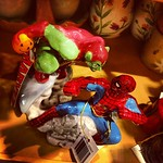 Anyone need Spider-Man/Green Goblin salt & pepper shakers?