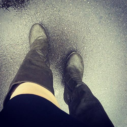 boots, stiefel, rain