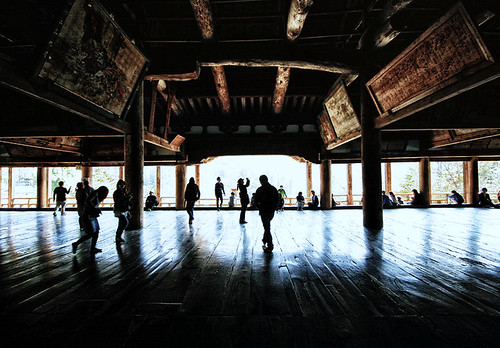 Stunning Temple at Miyajima, Japan