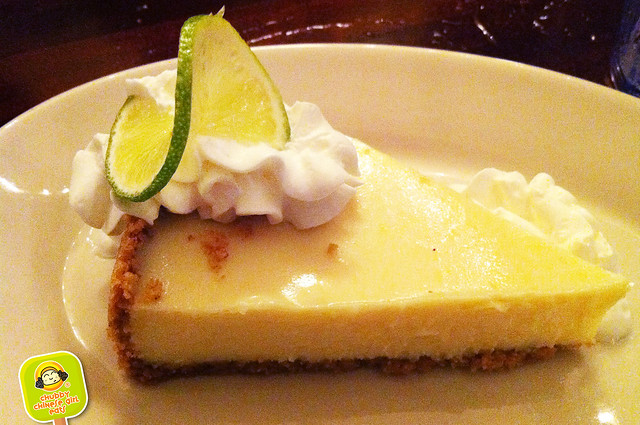 ft lauderdale - coconuts restaurant - keylime pie