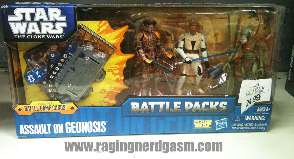 Star Wars The Clone Wars Battlepacks Assault on Geonosis by Hasbro001