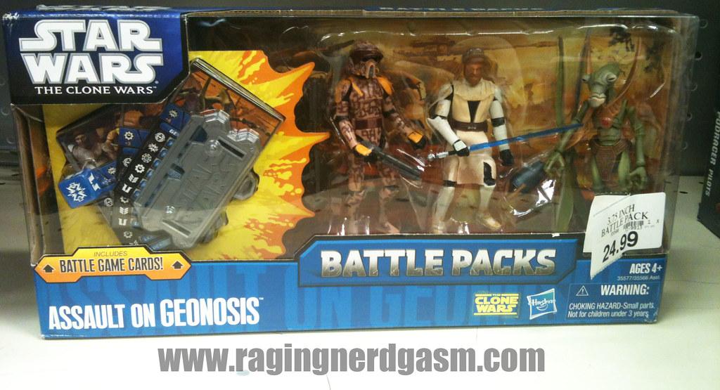 Star Wars The Clone Wars Battlepacks Assault on Geonosis by Hasbro001