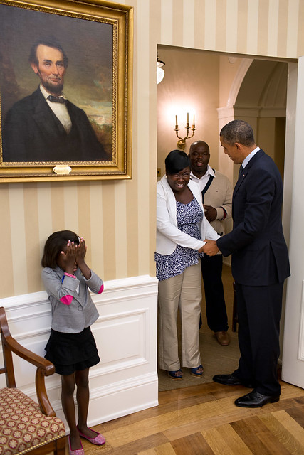 Ticker the heartwarming story behind janiya penny 39 s viral - When is obama out of office ...