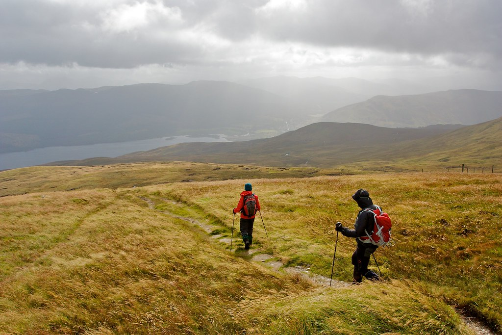 Descent from Meall nan Tarmachan