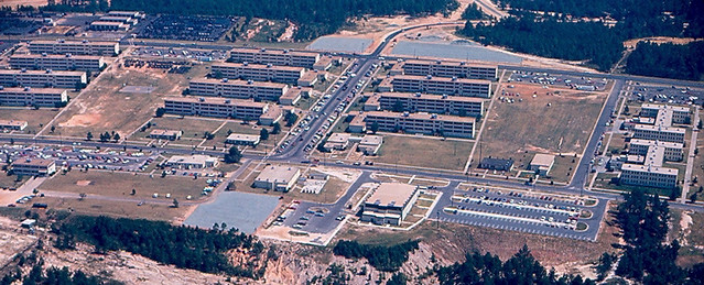 Fort Bragg Hammerhead Barracks