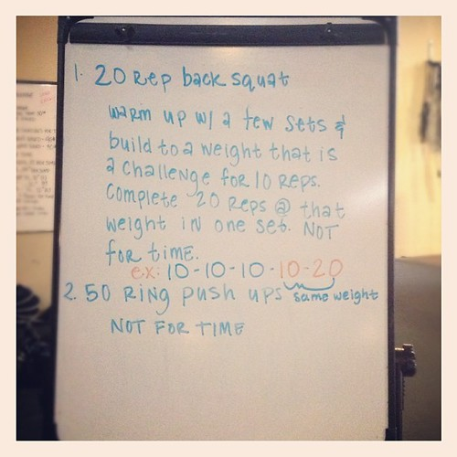 Monday goodness. #wod #crossfit