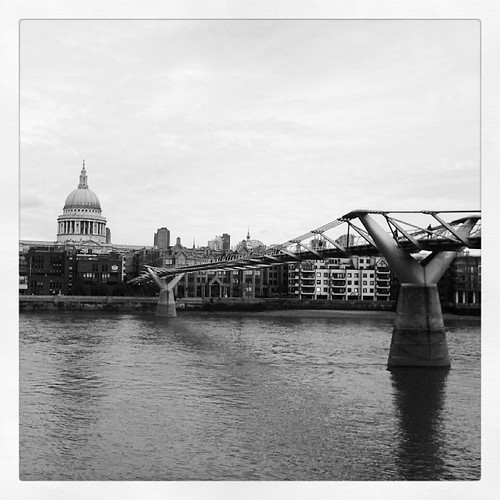 St. Paul & millennium bridge