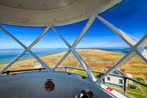 newdungenesslighthouse tower windows dungenessspit clallamcounty nationalregisterofhistoricplaces explored