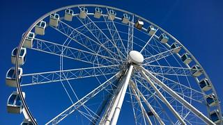 Bilde av SkyWheel Helsinki. skywheel helsinki finland summer ferriswheel bigwheel observationwheel
