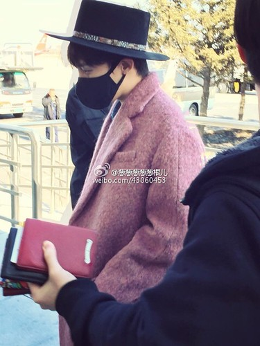 Big Bang - Harbin Airport - 21mar2015 - 葱葱葱葱葱根儿 - 09