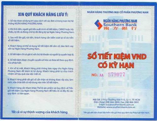 Dịch thuật công chứng sổ tiết kiệm, thẻ tiết kiệm lấy ngay tại Hà Nội