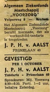 Vestiging tandartspraktijk Van Aalst