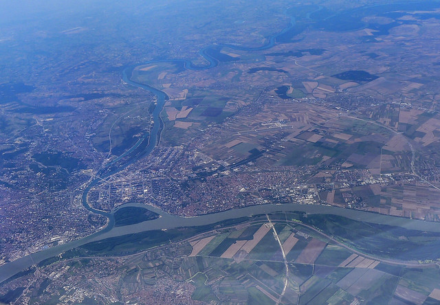 Belgrade from the air