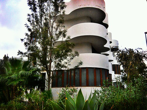 Edificio con curvas