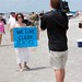 Hands Across the Sand 2012 At Folly Beach
